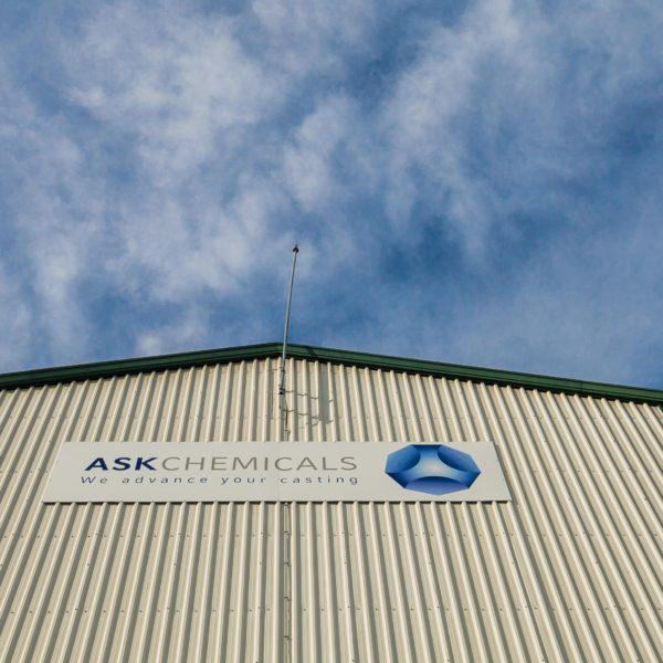 Traslado de ASK Chemicals coordinado por EDE Ingenieros